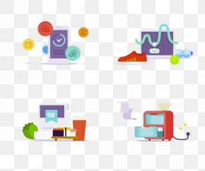 Cartoon Computer Electronics - Mobile App Application Software Icon PNG
