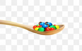 Skittles Was Inside A Wooden Spoon - Tableware PNG