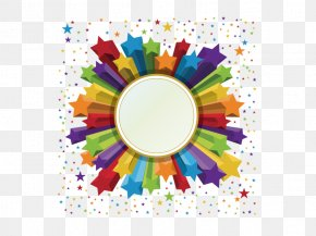 Abstract Material - Borders And Frames Party Free Content Clip Art PNG