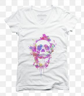 T-shirt - T-shirt Watercolor Painting Drawing PNG