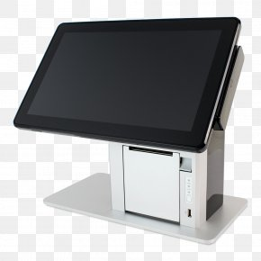 Computer - Point Of Sale Computer Monitors POS-X Touchscreen PNG