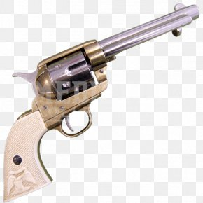 Weapon - Revolver American Frontier Trigger Firearm Colt Single Action Army PNG