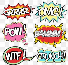 Comics Explosion Cloud Dialog - Download Speech Balloon PNG