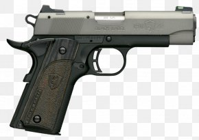 Handgun - Browning Hi-Power Firearm Handgun Semi-automatic Pistol PNG