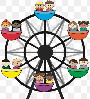 Ferris Wheel - Coney Island Ferris Wheel Clip Art PNG
