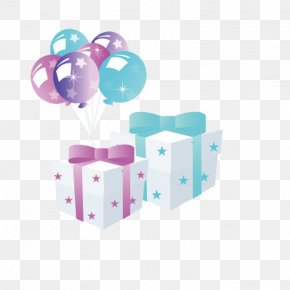 Gift - Gift Birthday Balloon Clip Art PNG