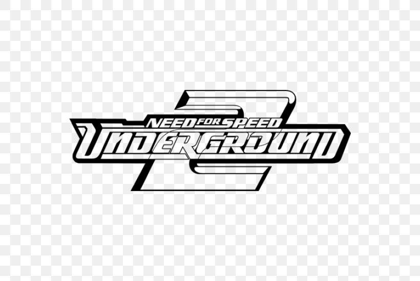 Need For Speed: Underground 2 Need For Speed: Most Wanted PlayStation 2, PNG, 550x550px, Need For Speed Underground 2, Area, Automotive Exterior, Automotive Lighting, Black And White Download Free