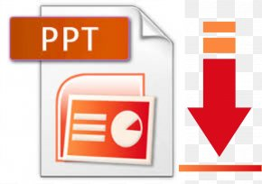 PPT - .pptx Microsoft PowerPoint Portable Document Format PNG
