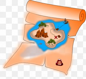 Pirate - Treasure Map Buried Treasure Piracy Clip Art PNG