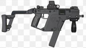Scar - KRISS Vector Submachine Gun Firearm .45 ACP Weapon PNG