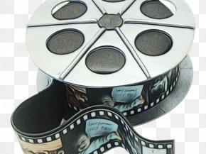 Filmstrip Movie Camera - Film Reel PNG