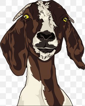 Goat - Boer Goat Anglo-Nubian Goat Gilbie: The Glad Goat With Glasses T-shirt PNG