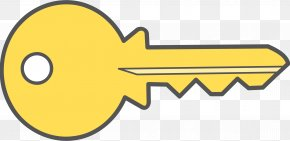 A Picture Of A Key - Key Free Content Clip Art PNG