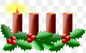 Church Candles - Advent Sunday Advent Wreath Clip Art PNG