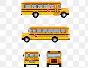 School Bus - School Bus Stock Photography PNG