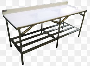 Table - Table Furniture Meat Kitchen Stainless Steel PNG