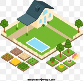 House Vegetable Garden Plan View Vector Material Downloaded, - House Interior Design Services Sweet Home 3D PNG