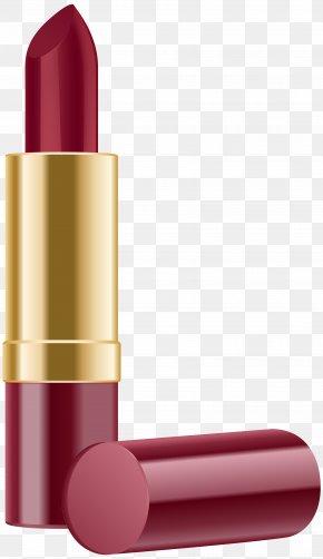 Red Lipstick Clip Art Image - Lipstick Clip Art PNG