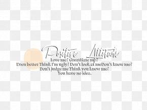 Text Attitude - Text Document Sticker Idea PNG