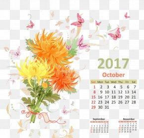 Calendar - Calendar October PNG