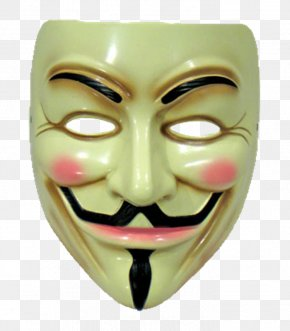 Mascara - Guy Fawkes Mask Clip Art PNG