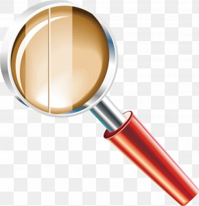 Magnifying Glass Material Picture - Magnifying Glass Clothing Material Expert Service PNG