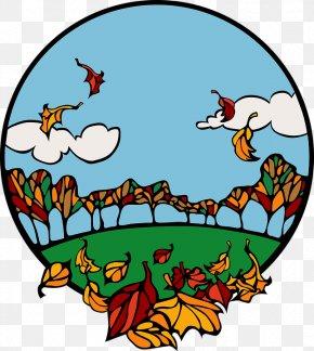 Round,blue,travel - School Autumn Class Clip Art PNG