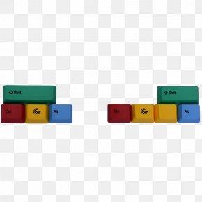 Wasd Keys - Keycap Computer Keyboard Polybutylene Terephthalate Light PNG