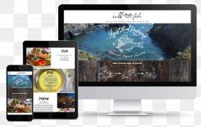 Hansen Belyea - Restaurant Wild Fish Responsive Web Design Organic Food PNG