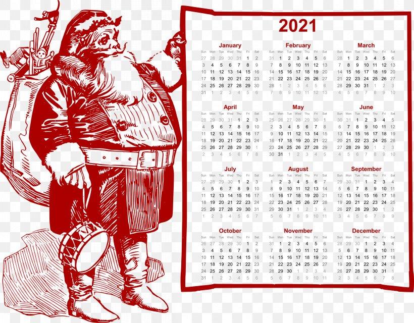 Calendar Christmas 2021