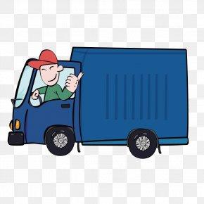 Open Truck Driver - Car Truck Driver PNG