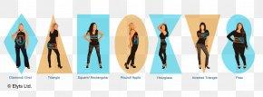 Woman Shape - Female Body Shape Hourglass Figure Human Body Woman PNG