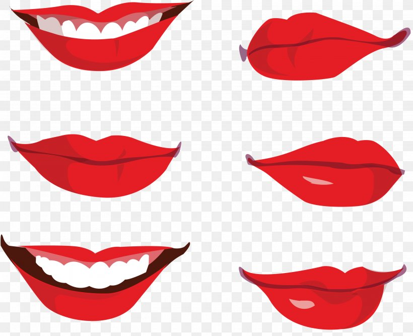 Mouth Lip Smile Clip Art Png 2825x2300px Mouth Cartoon Face Lip Red Download Free