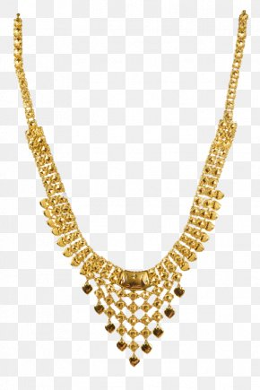 Necklace - Necklace Kerala Earring Jewellery Gold PNG