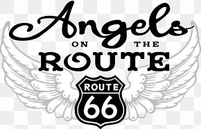 Route - U.S. Route 66 Angels On The Route PNG