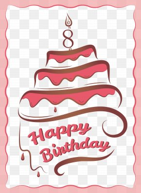 Birthday Cake Vector Material - Birthday Cake Greeting Card Birthday Card PNG