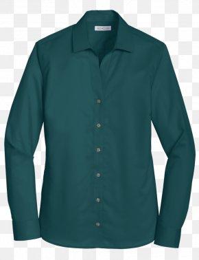 T-shirt - Long-sleeved T-shirt Long-sleeved T-shirt Electric Blue Aqua PNG