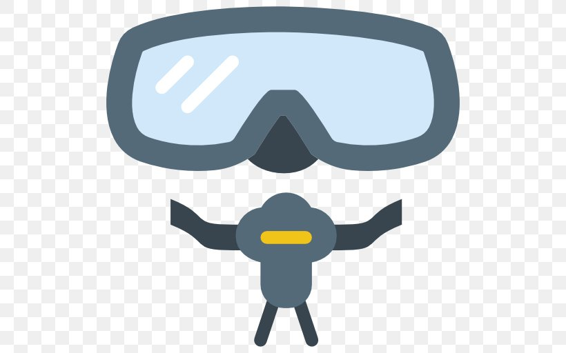 Goggles Scuba Diving Swimming Diving Mask Snorkeling, PNG, 512x512px, Goggles, Blue, Deep Diving, Diving Equipment, Diving Mask Download Free
