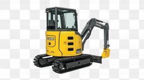 Excavator - John Deere Compact Excavator Heavy Machinery Tractor PNG