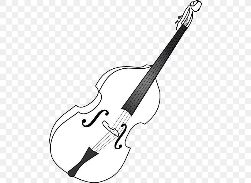 Double Bass Cello Musical Instruments Bass Guitar Clip Art