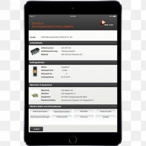 Mobile App Template - Smartphone Mobile Phones Handheld Devices Landtechnik Schuster GmbH PNG