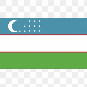 Flag - Flag Of Uzbekistan National Flag Flags Of The World PNG