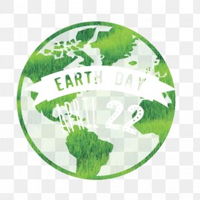 Vector Earth Day LOGO - ArtWorks PNG