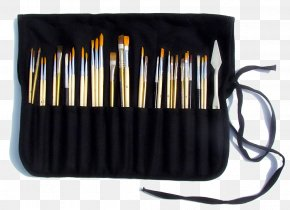 Painting Pencil - Oil Painting Paintbrush Canvas PNG