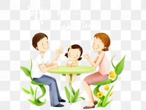 Happy Family - Family Happiness Child Illustration PNG
