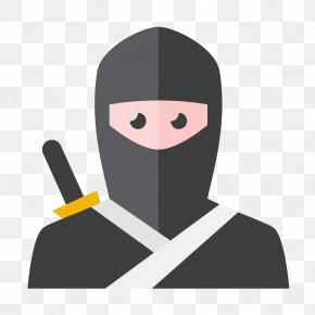 Gray Ninja - Ninja Icon Design Icon PNG