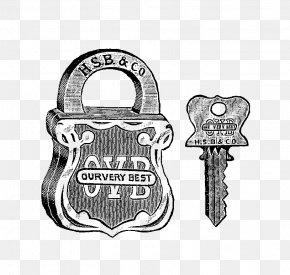 Key Images Free - Padlock Key Clip Art PNG