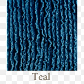 Teal Color - Turquoise Teal Electric Blue Aqua Wool PNG
