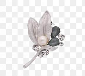 Simple Pin Brooch - Brooch Safety Pin PNG
