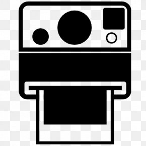 Polaroid Camera - Photography Icon Design Instant Camera PNG